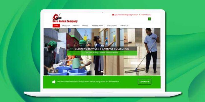 Web Design & Development – GURU NANAK COMPANY